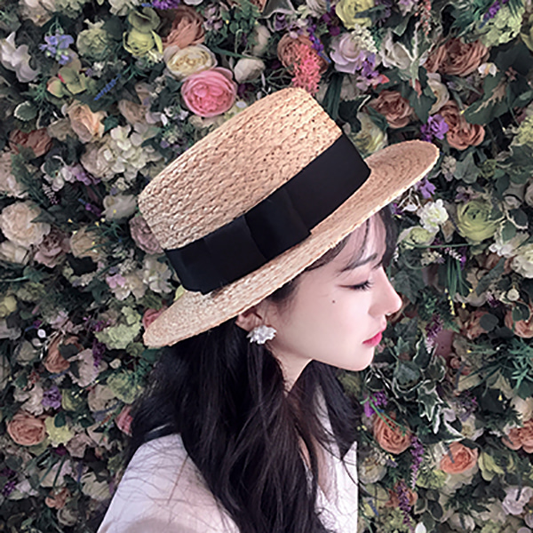 THEXXXY - 더엑스, Summer Ribbon Floppy-hat # 221